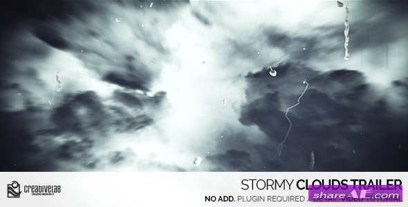 Videohive Stormy Clouds Trailer