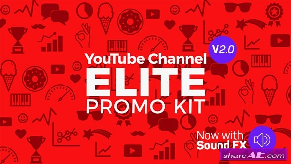 Videohive YouTube Elite Promo Kit