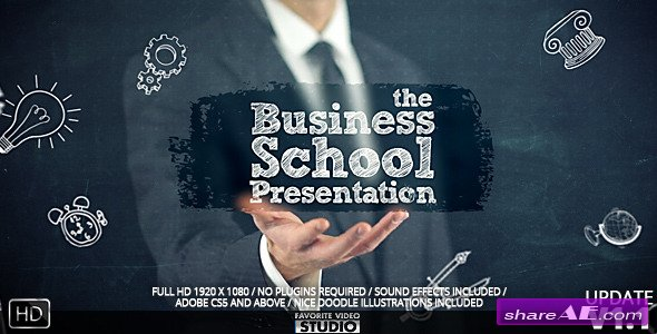 Videohive BusinessSchoolCollege Presentation
