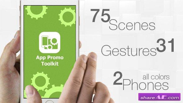 Videohive App Promo Toolkit
