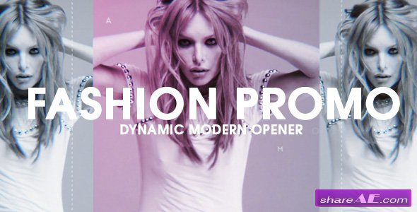 Videohive Fashion Promo // Dynamic Opener