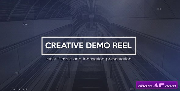 Videohive Creative Demo Reel