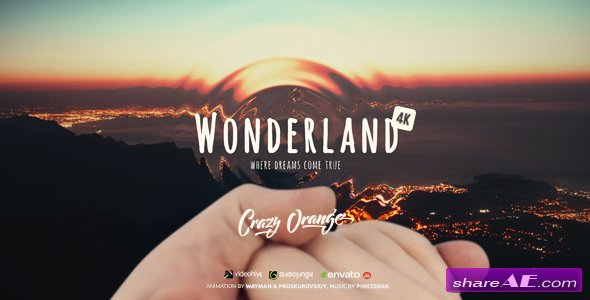 Videohive Wonderland | Love Story