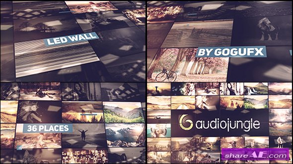 Videohive The Led Wall