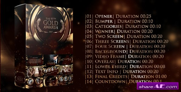 Videohive Gold Awards