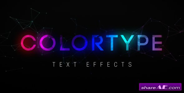 Videohive ColorType Text Effects