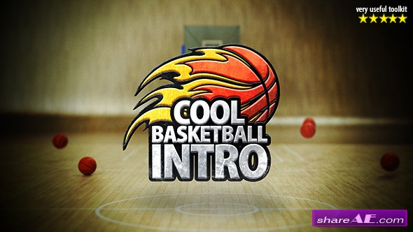 Videohive Cool Basketball Intro