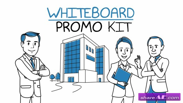 Videohive Whiteboard Promo Kit