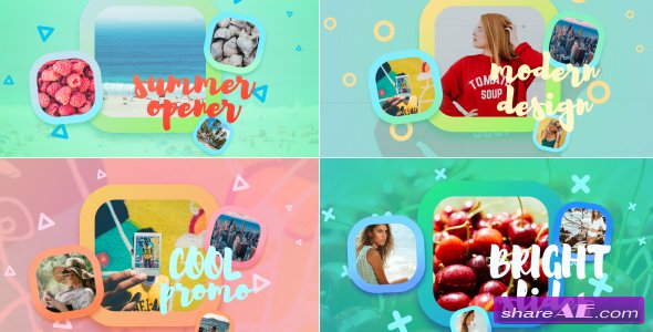 Videohive Bright Summer Slideshow