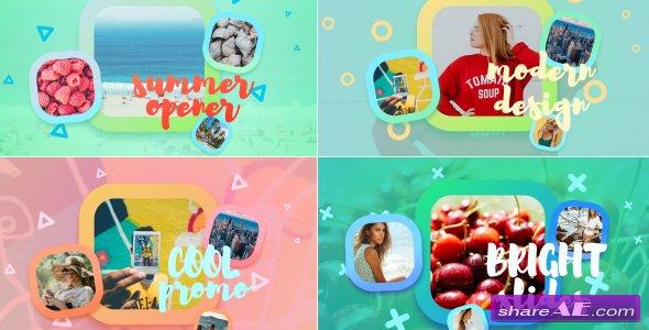 Videohive Bright Summer Slideshow