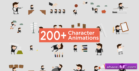 Videohive Character Animation Pack