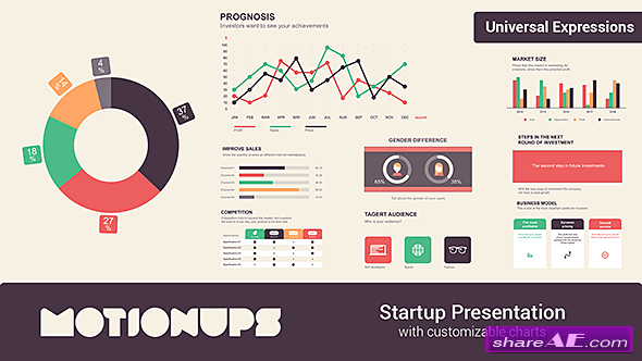 Videohive Startup Infographics Presentation
