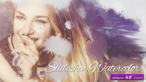 Videohive Slideshow Watercolor
