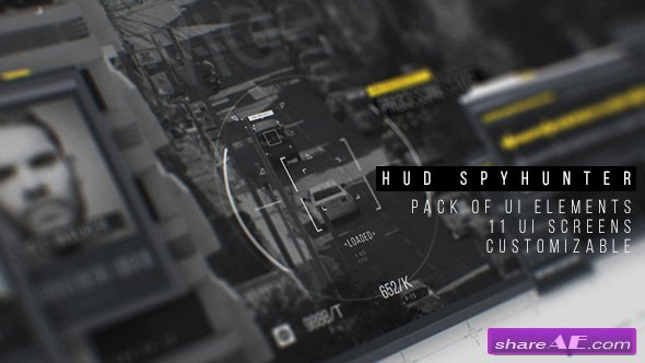 Videohive HUD SpyHunter