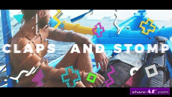 Videohive Summer Stomp Logo