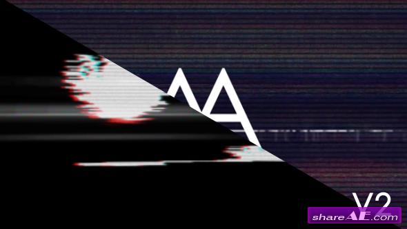 Videohive Glitch Logo v2
