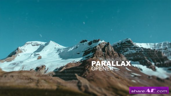 Videohive Parallax Opener 16701534