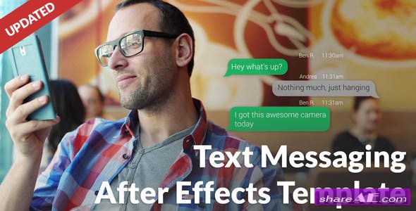 Videohive Text Message with Photo and Video Options