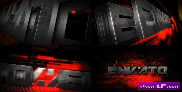 Videohive Metal Transform Logo Reveal