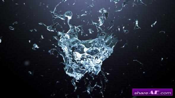 Videohive Splash Logo Reveal  20153846