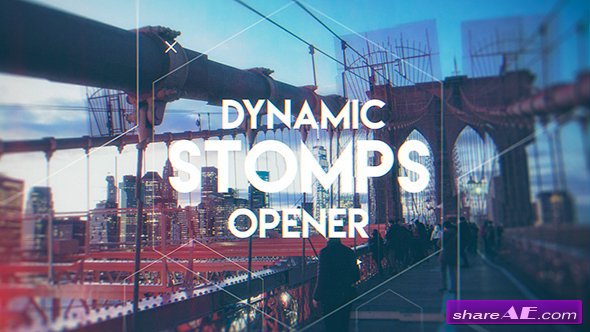 Videohive Dynamic Stomps Opener