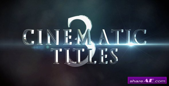 Videohive Cinematic Titles 3