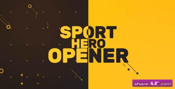 Videohive Sport Hero Opener