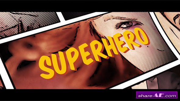 Videohive Superhero Opener