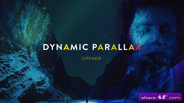 Videohive Dynamic Parallax Opener