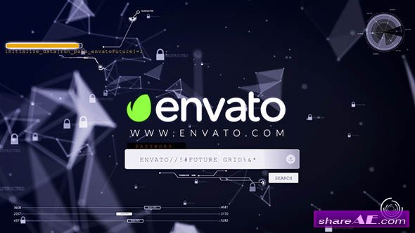 Videohive ctOS - Login Hack Logo Reveal