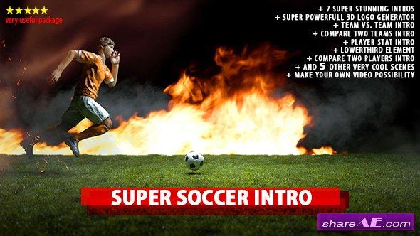Videohive Super Soccer Intro