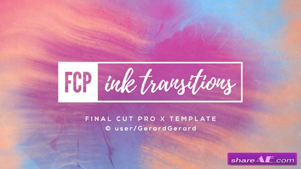 Videohive ink transitions fcpx free after effects for Free final cut pro intro templates
