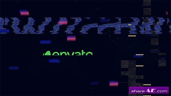 Videohive Glitch Logo 19917324