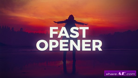 Videohive Fast Stomp Opener