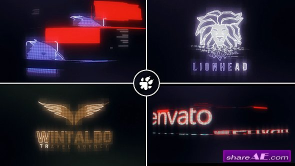 Videohive Digital Glitch Logo