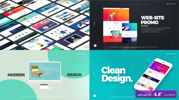 Videohive Website Opener