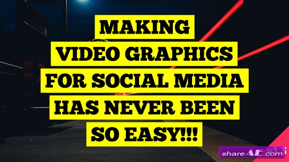 Videohive Social Media Video Graphics