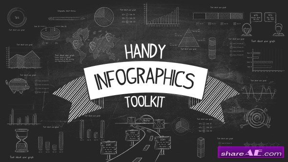 Videohive Handy - Infographics Toolkit