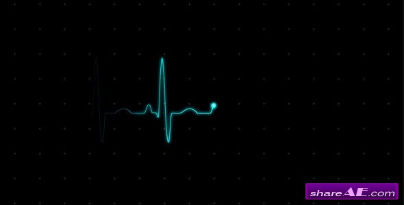 Videohive EKG (Heartbeat Monitor - Electrocardiogram) - Motion Graphics