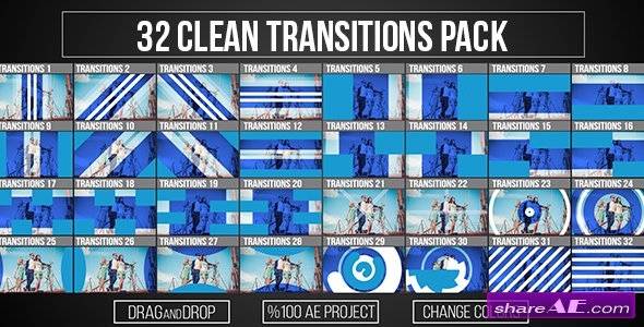 Videohive Transitions 19903482