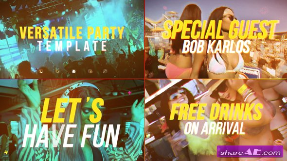 Videohive Versatile Party