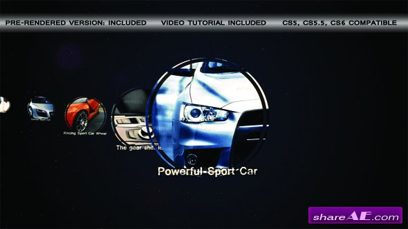Videohive Sport Car Slideshow