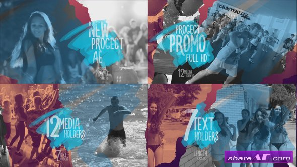 Videohive Promo Torn Sheets