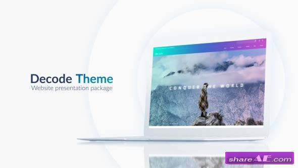 Videohive Website Presentation Pack