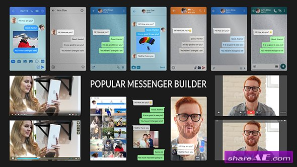Videohive Popular Messenger Builder