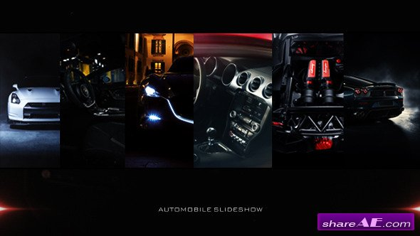 Videohive Car Slideshow