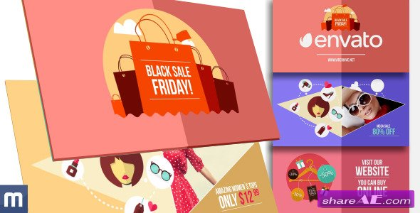 Videohive Black Friday Sale - Online Promo