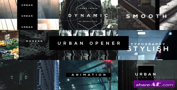 Videohive Urban Opener 20537773