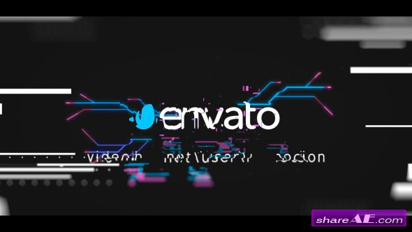 Videohive Glitch Logo Reveal 19640249