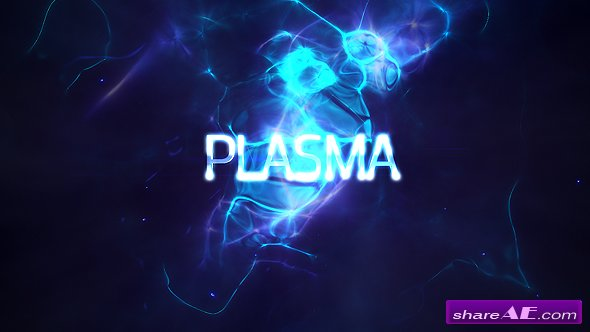 Videohive Power Light Plasma Titles 4K
